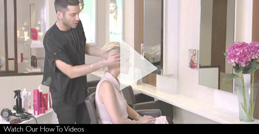how to style short hair videos