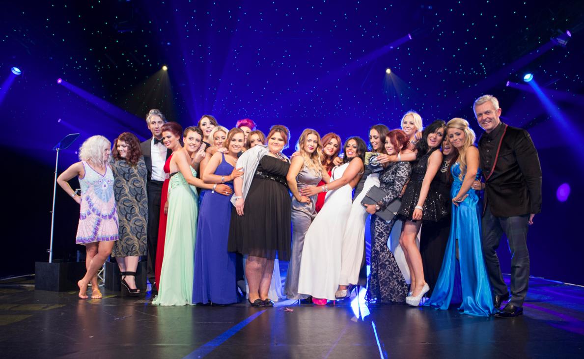 Most Charitable Salon winners - Headmasters Surbiton, George Lamb & Headmasters Director Mark Foster