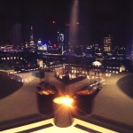 View of London skyline from Penthouse