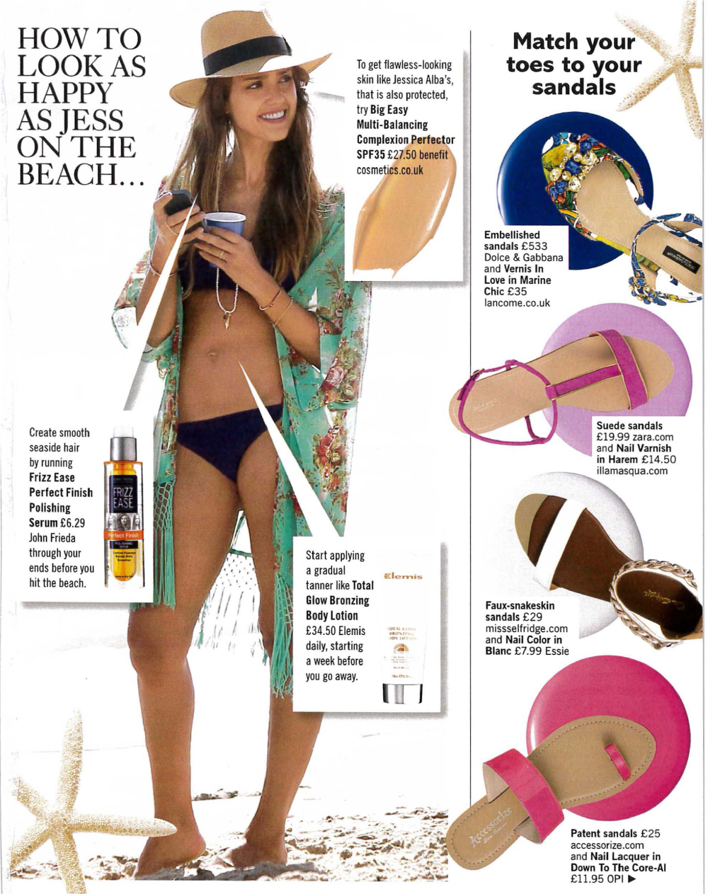 Glamour Holiday Beauty Checklist featuring tips from Jodie Papworth-3