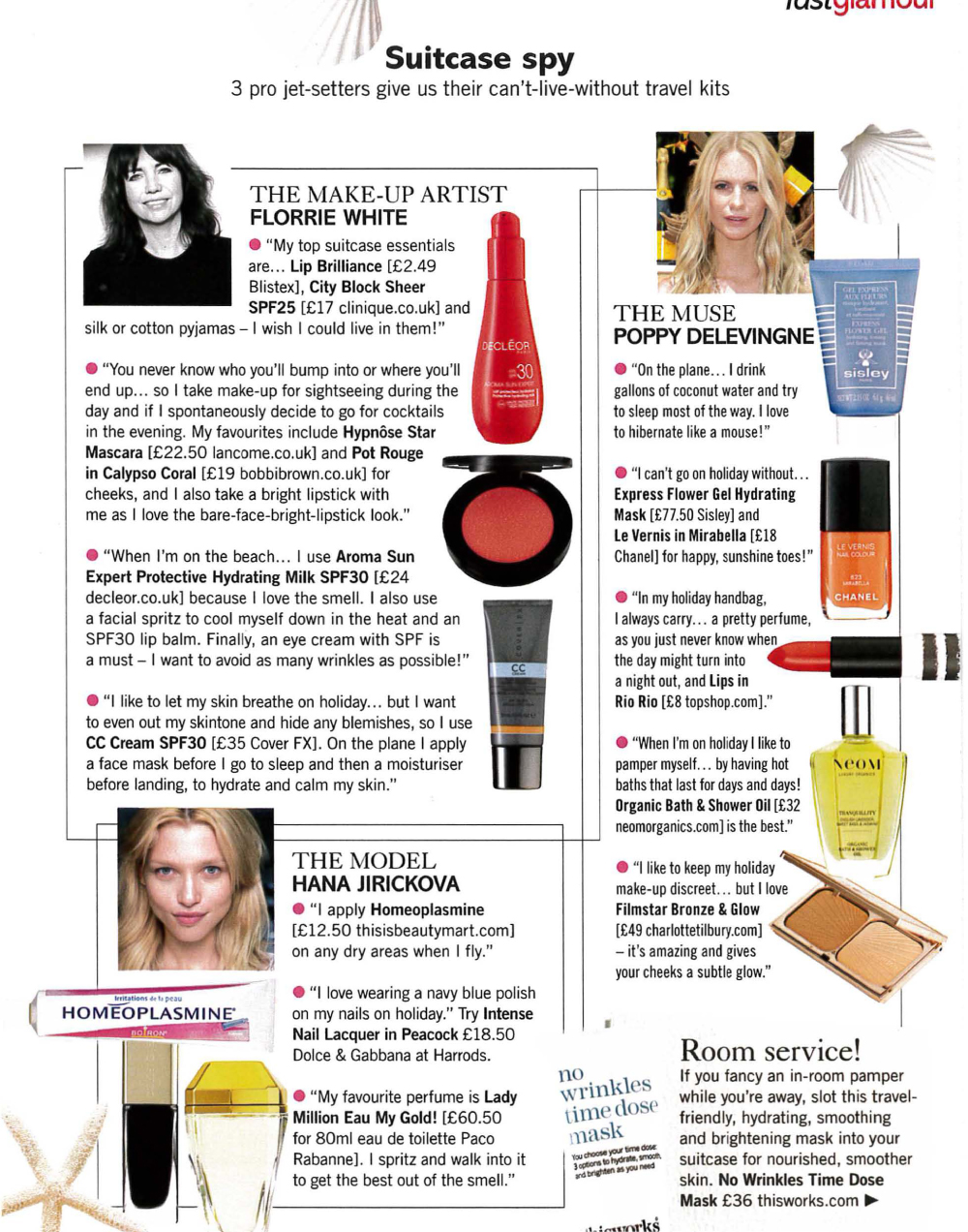 Glamour Holiday Beauty Checklist featuring tips from Jodie Papworth-4