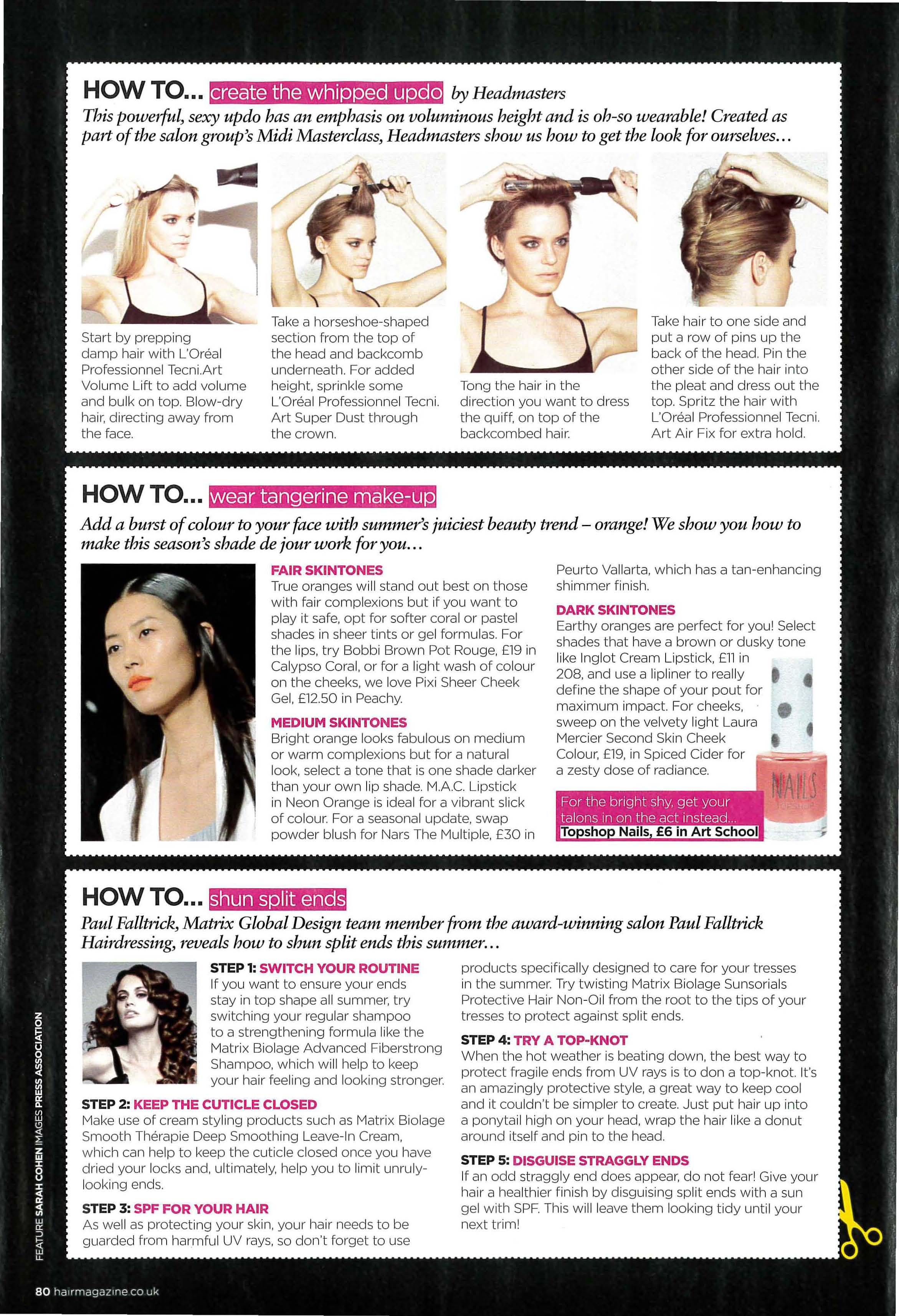 Hair Magazine featuring Whipped Updo Midi Masterclass_Page_2
