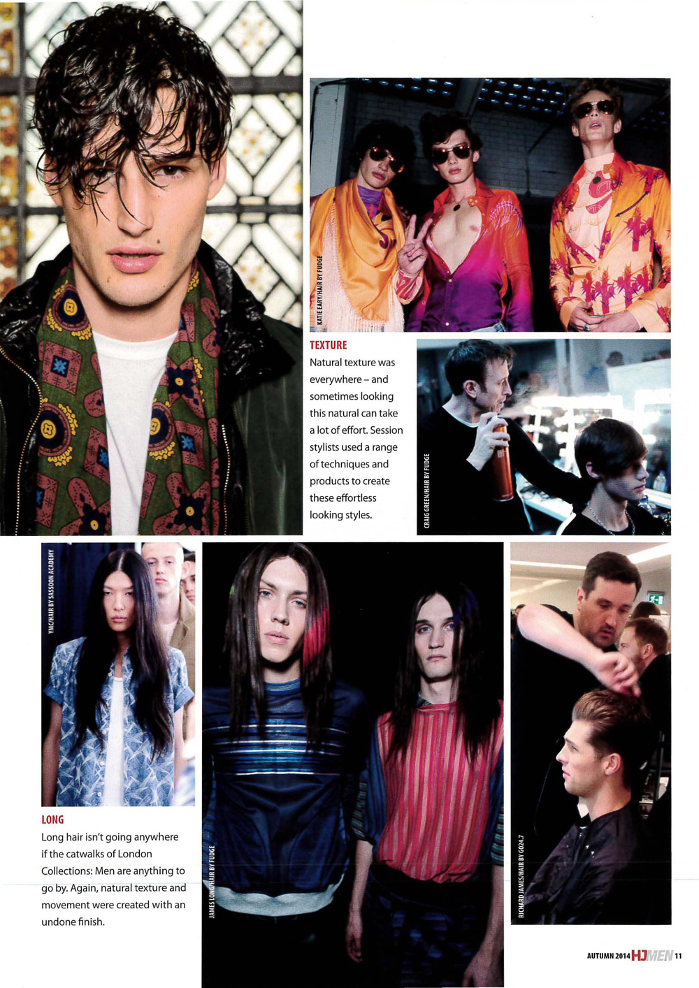Hairdressers Journal MENS GUIDE featuring John Smedley image styled by H...-1
