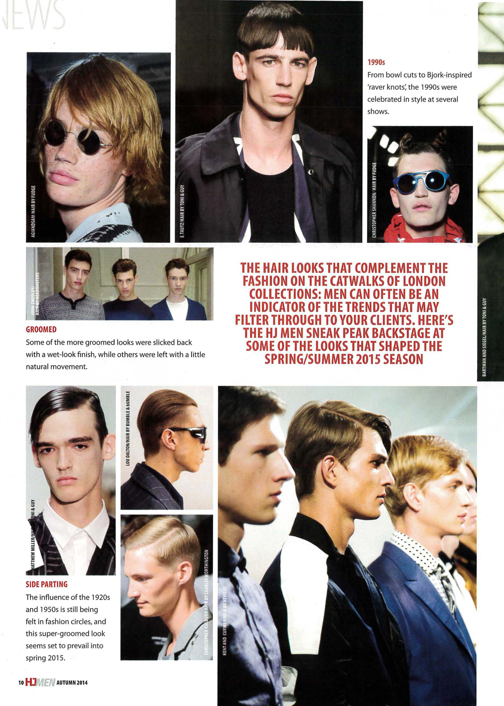 Hairdressers Journal MENS GUIDE featuring John Smedley image styled by Headmasters Artistic Team_Page_2