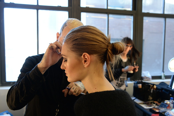 Diane Von Furstenberg - Backstage - Mercedes-Benz Fashion Week Fall 2015