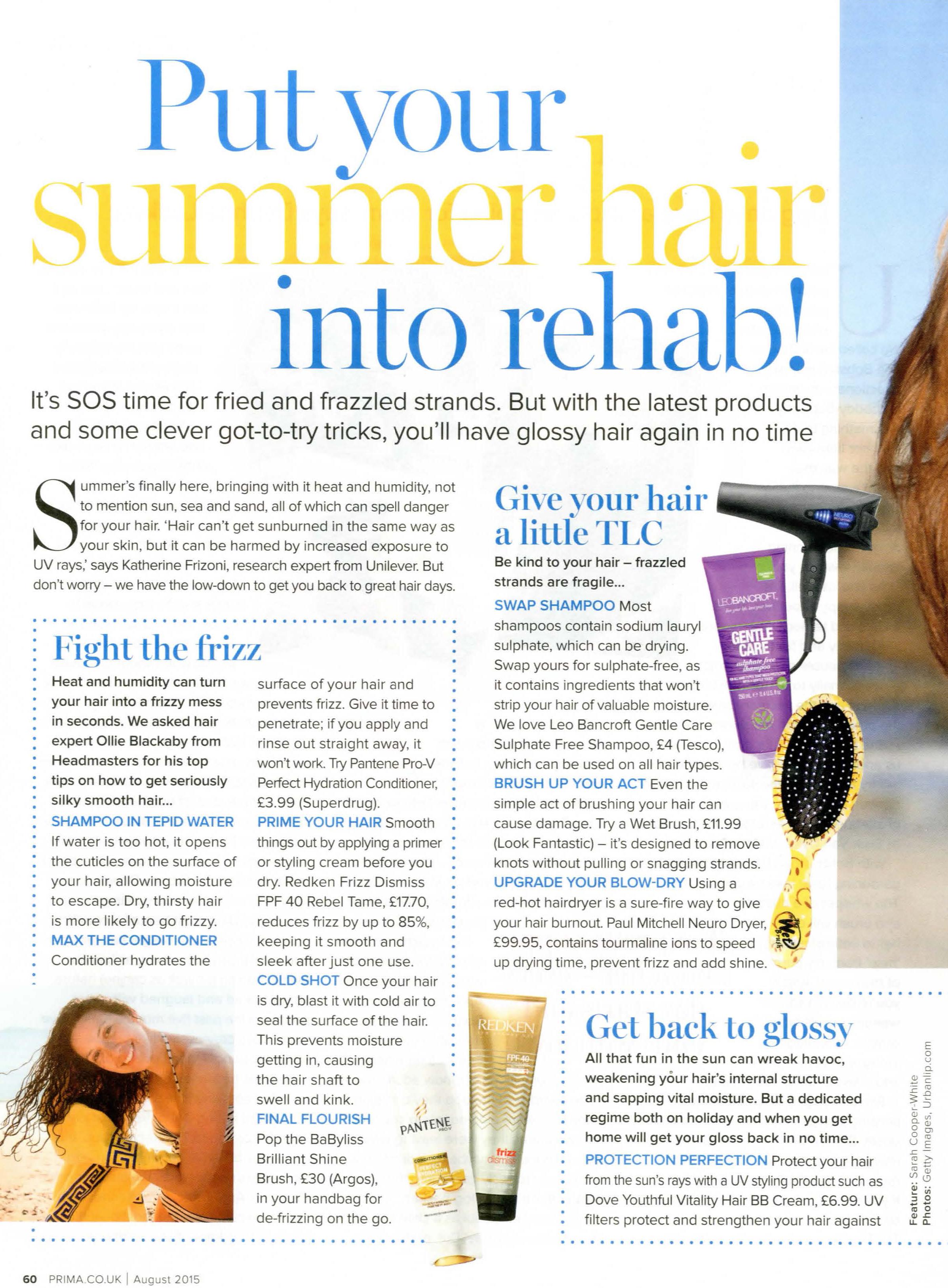 prima summer hair