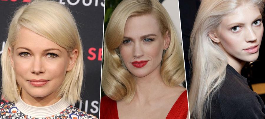 celebrity hair - blonde
