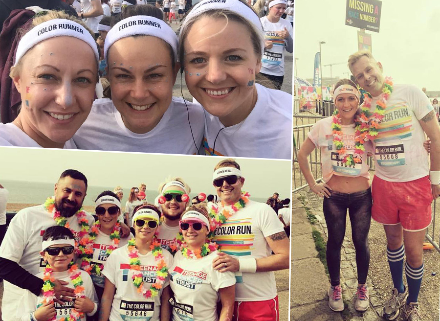 headmasters colour run