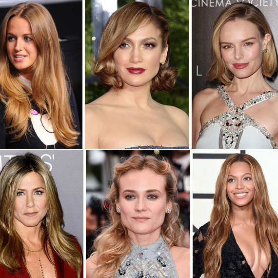 celebrity hair glamour
