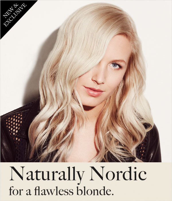 naturally nordic flawless blonde