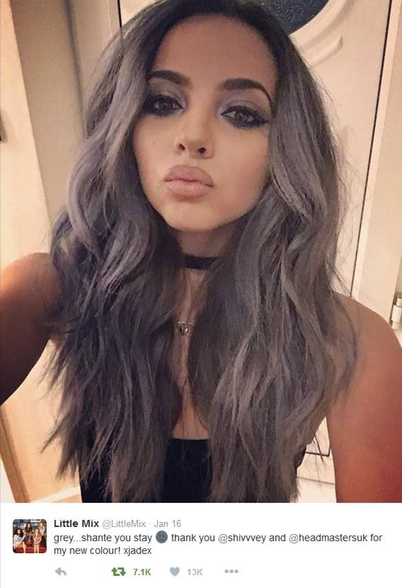 jade little mix hair