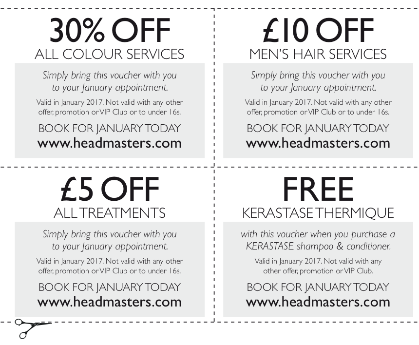 headmasters new year offers