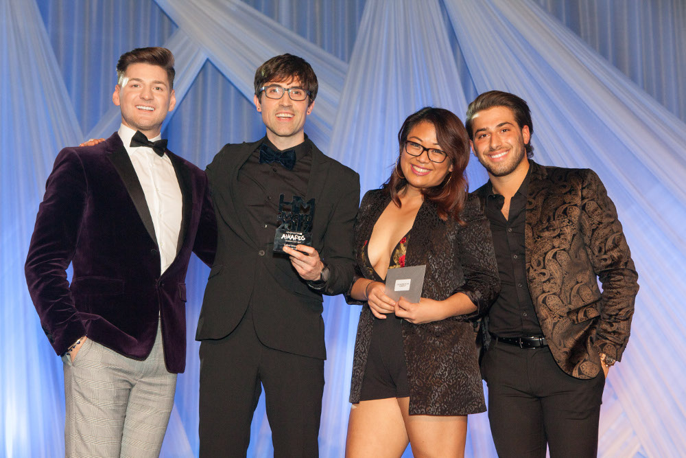 Colour Innovation Award Runner up Rebieann Contaoe and Rodrigo Perez Clapham South
